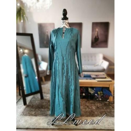 Double  linen dress