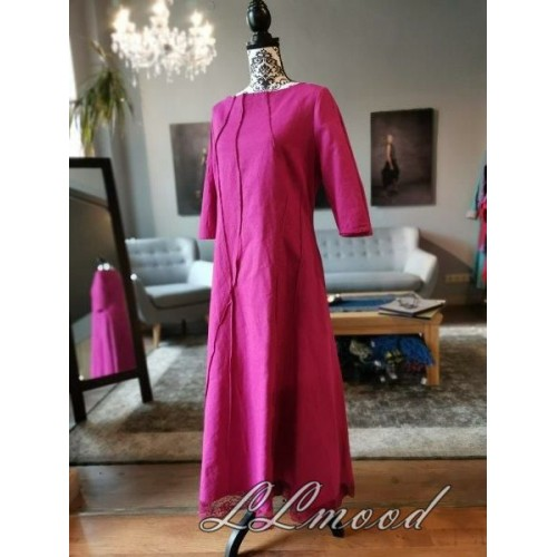Long  linen dress