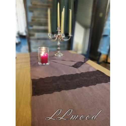 Linen tablecloth set 807