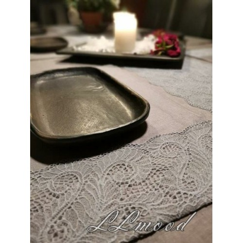Linen tablecloth set 811