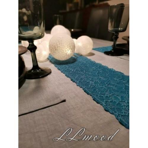 Linen tablecloth set 812