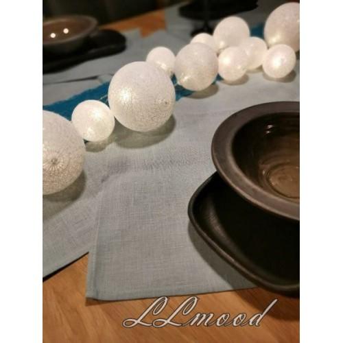 Linen tablecloth set 813