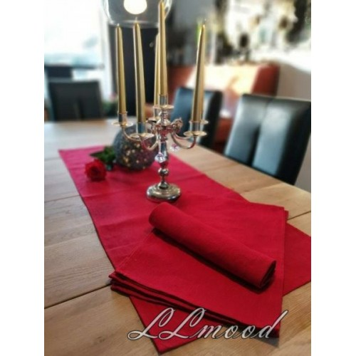 Linen tablecloth set 806
