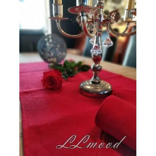 Linen tablecloth set 806