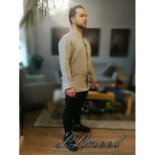 Linen shirt - jacket